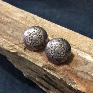 Jewelry - Native American Sterling Silver Earrings